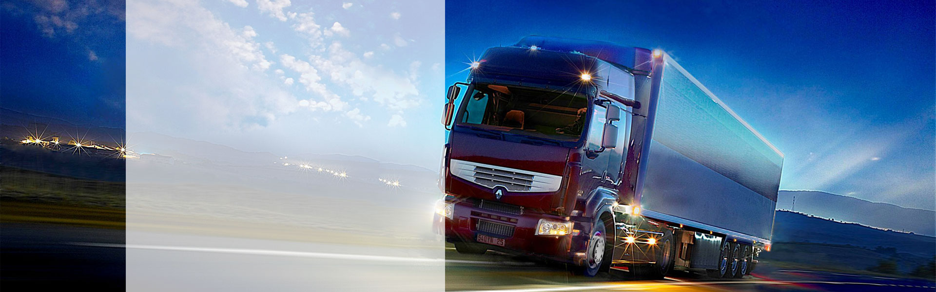 Various road transport services to and from all parts of the globe. Also providing domestic transportation management